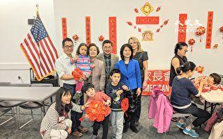 华人家长会教做灯笼  让小学生认识中华文化