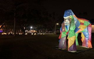 彩灯节动物大迁徙  屏东公园重返动物园光景