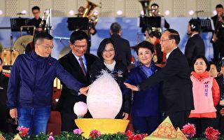 2020台灣燈會 蔡總統點亮「光之樹」讚永續