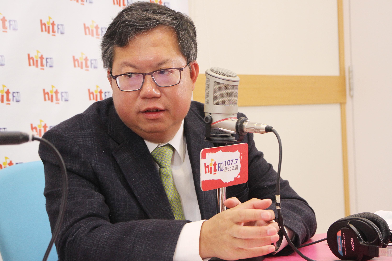 2020年2月3日,台灣桃園市長鄭文燦認為,中共肺炎對中國共產黨執政的正當性是很大的挑戰。(中央社)