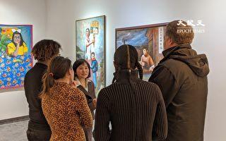 华裔画家四作品  入围皇后区艺术委员会年展