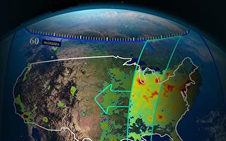 NASA將提供北美地區每小時空氣質量數據