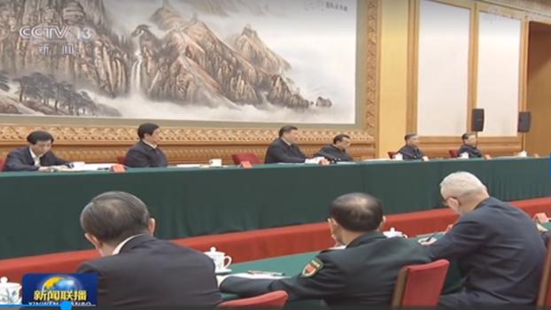 夏小強:習近平展示軍權「抗疫」「抗政敵」