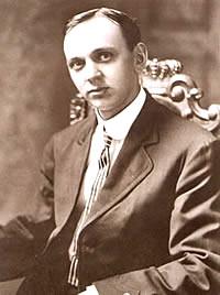 美國先知愛德加・凱西(Edgar Cayce),攝於1910年10月。(公有領域)