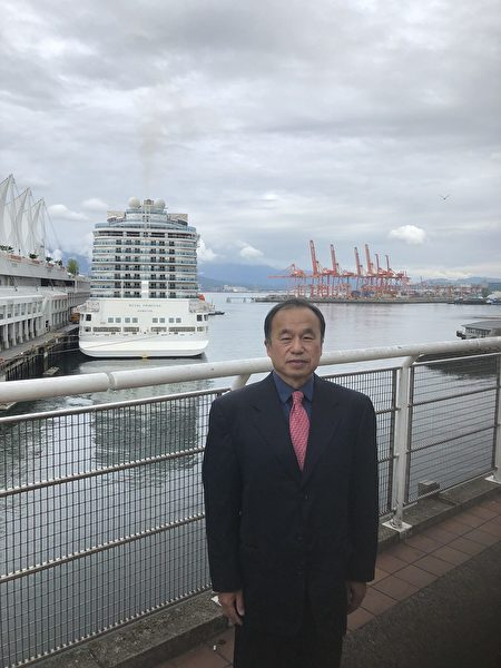图:大华旅游公司总经理张维霖,就无怪乎旅游业因为疫情受到重创,分析目前旅游业的状况与行情。(张维霖提供)