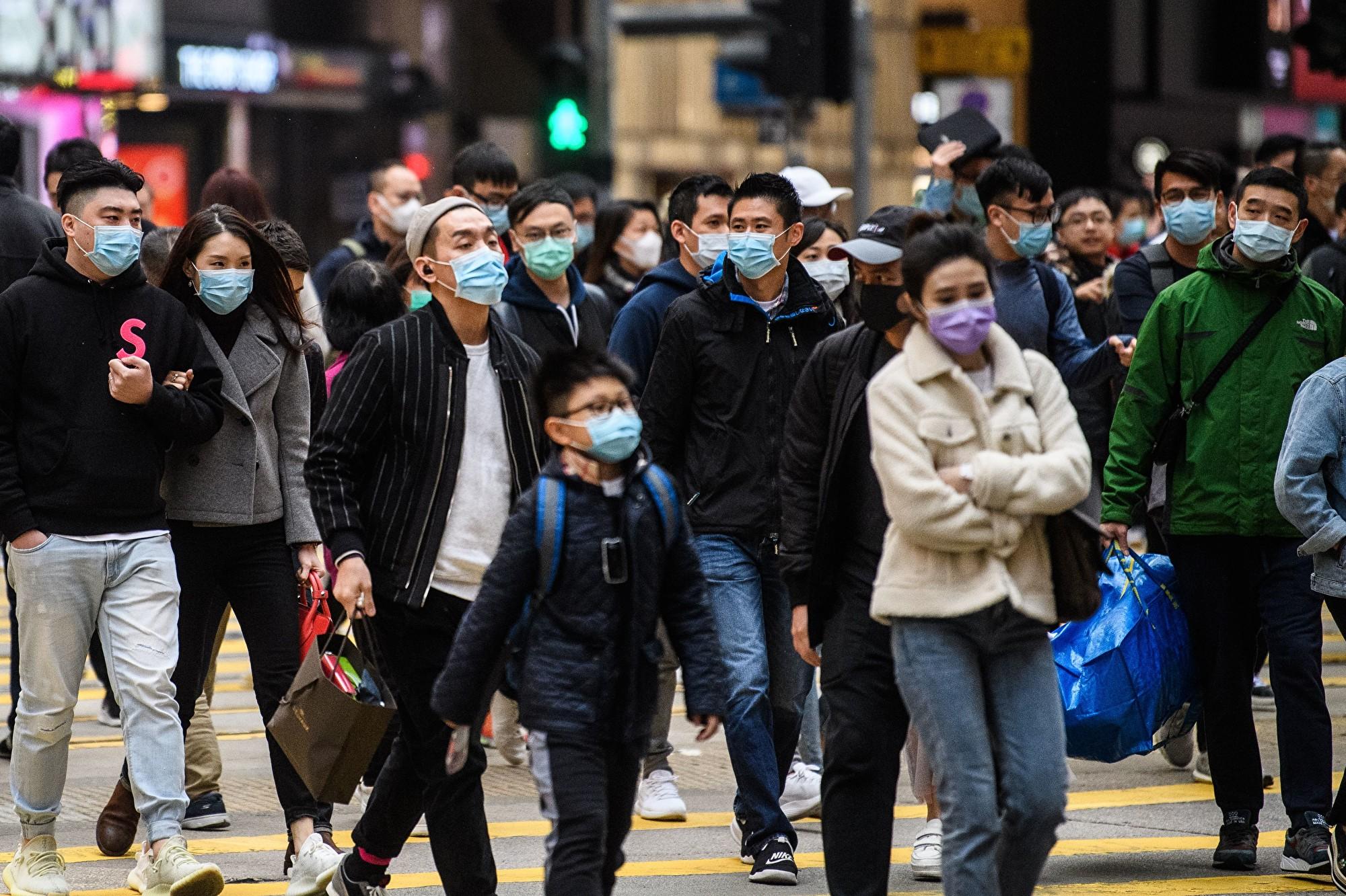 香港記協主席:中共病毒就是「官狀病毒」
