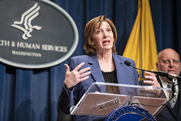 美國CDC國家免疫與呼吸疾病中心(National Center for Immunization and Respiratory Diseases)主任蘭茜·梅森尼爾(Nancy Messonnier)博士。(Samuel Corum/Getty Images)