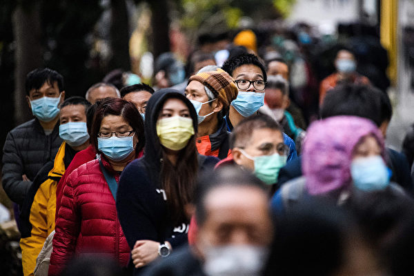 中共肺炎和美國流感究竟有何區別? (ANTHONY WALLACE/AFP via Getty Images)