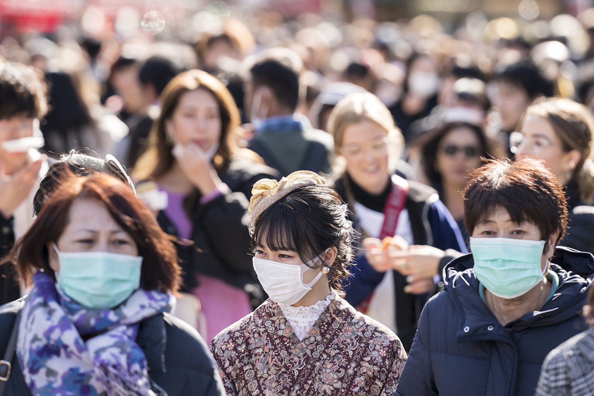 北海道至2月28日已有66例中共肺炎確診,是日本47個都道府縣中疫情最嚴重的地方。(Tomohiro Ohsumi/Getty Images)
