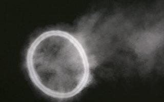 巴基斯坦天空出現奇怪煙圈 網友熱議