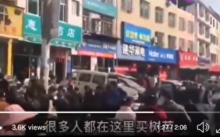 疫情当前 四川广元大批市民扎堆喝茶