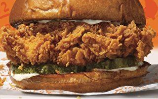 Popeyes著名炸雞三明治今年登陸加拿大