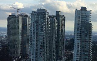 圖為高樓林立的溫哥華