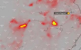 武漢大氣出現驚人濃度的二氧化硫 在燒什麼?