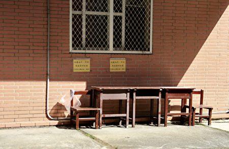 有額耳溫疑慮同學暫坐校警區靜候,待檢不能進校。