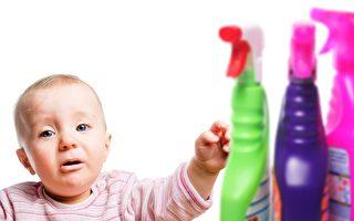 研究:家居清洁剂增加儿童哮喘风险