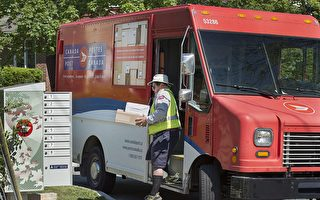 疫情下 加拿大郵政照常處理中國大陸郵包