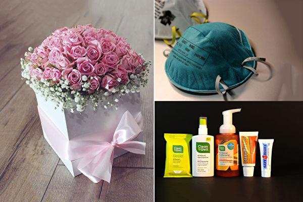 疫情影響 情人節玫瑰花失寵 口罩成最熱門禮物