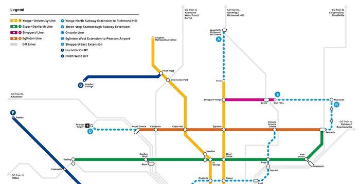 多倫多市與省府正式簽約 擴展大多區地鐵線