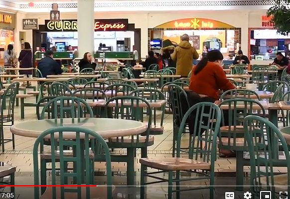 圖:溫哥華華人中餐館與商家,受到新冠肺炎病毒的影響,生意遭到很大創傷。(視頻截圖)