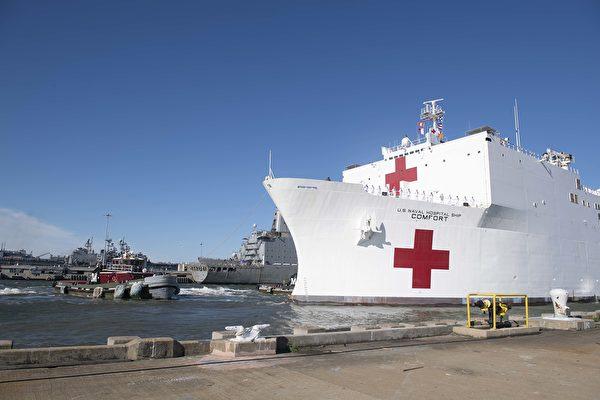 【最新疫情3.18】川普派醫療艦前往紐約