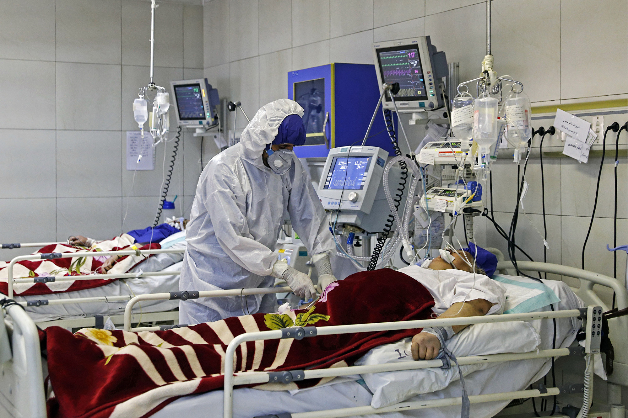 伊朗中共肺炎肆虐醫院床位緊缺 病毒在監獄蔓延