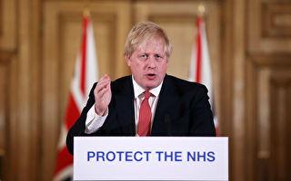 染疫隔離在家 英國首相致信國人