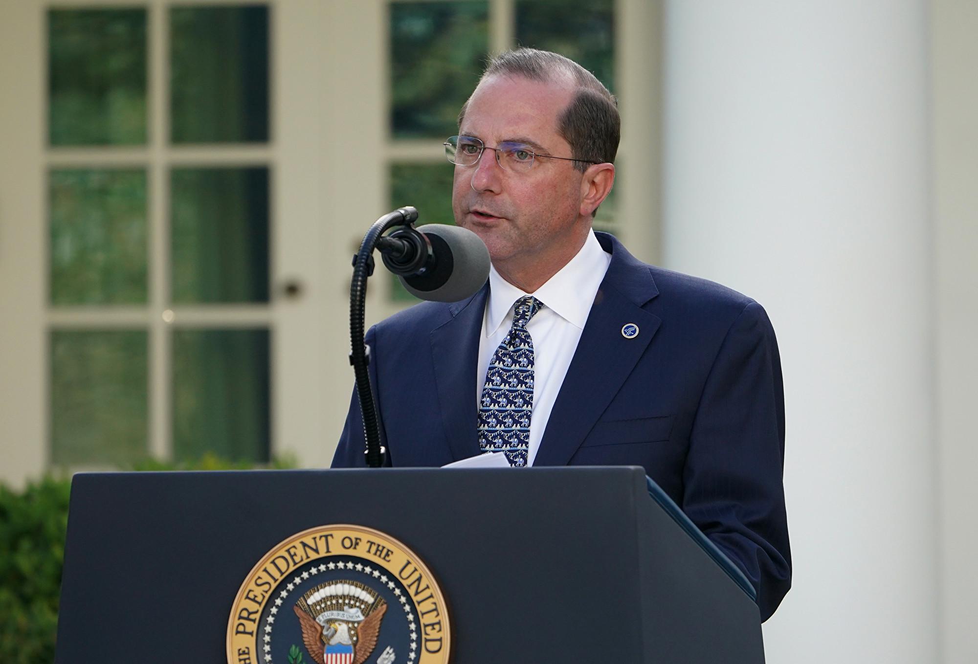 衛生部長將訪台 美國務院:重申美對台支持