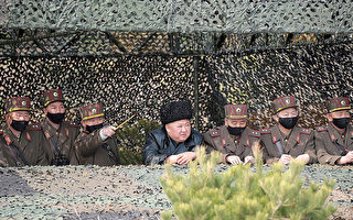 中共病毒蔓延 金正恩四度視察軍隊不戴口罩