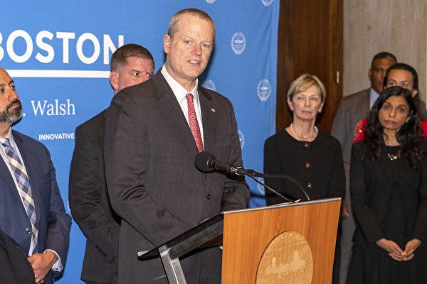 麻州8人测试新冠病毒阳性 州长市长说明