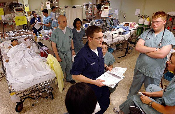 舒適號上的ICU。(公有領域)