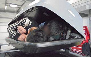 车顶行李箱藏偷渡客 英国男坐牢三年