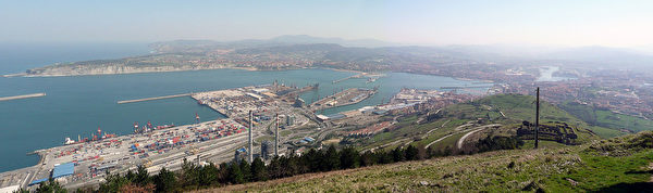 西班牙畢爾巴鄂港(Port of Bilbao)(Haresgod/Wikimedia Commons)