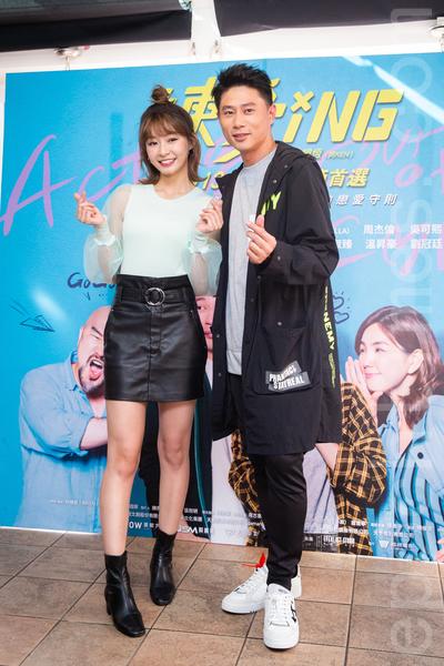 陳怡㪫(Yuri)(左)、彭小刀