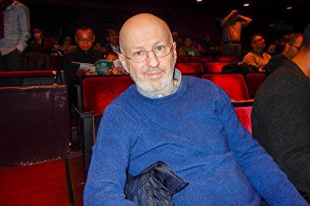 2020年3月11日晚,藝術拍賣行總裁Bernard Rougerie有幸觀賞了神韻藝術團在紐約林肯中心大衛寇克劇院的第七場演出。(衛泳/大紀元)