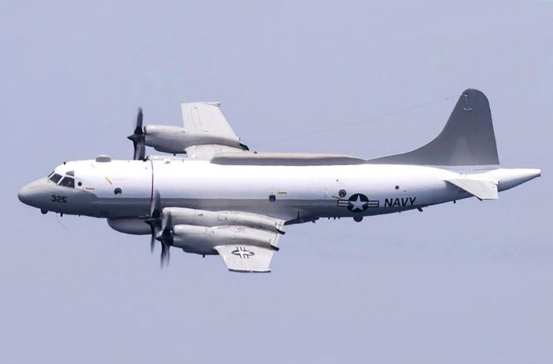 中共軍機頻挑釁 美軍偵察機再現台灣海域