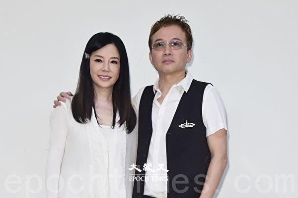 孙鹏(右)、狄莺(左)夫妇
