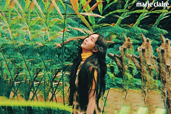 張鈞甯喜歡大自然 化身綠仙子暢談環保
