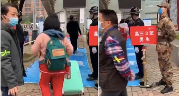 影片:貴陽開首例 多間學校高年級開課遭批評