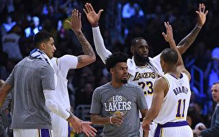 NBA:湖人连克两强敌 七年后再进季后赛