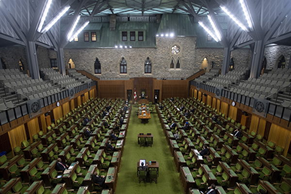 加拿大眾院通過820億應對疫情緊急救援法