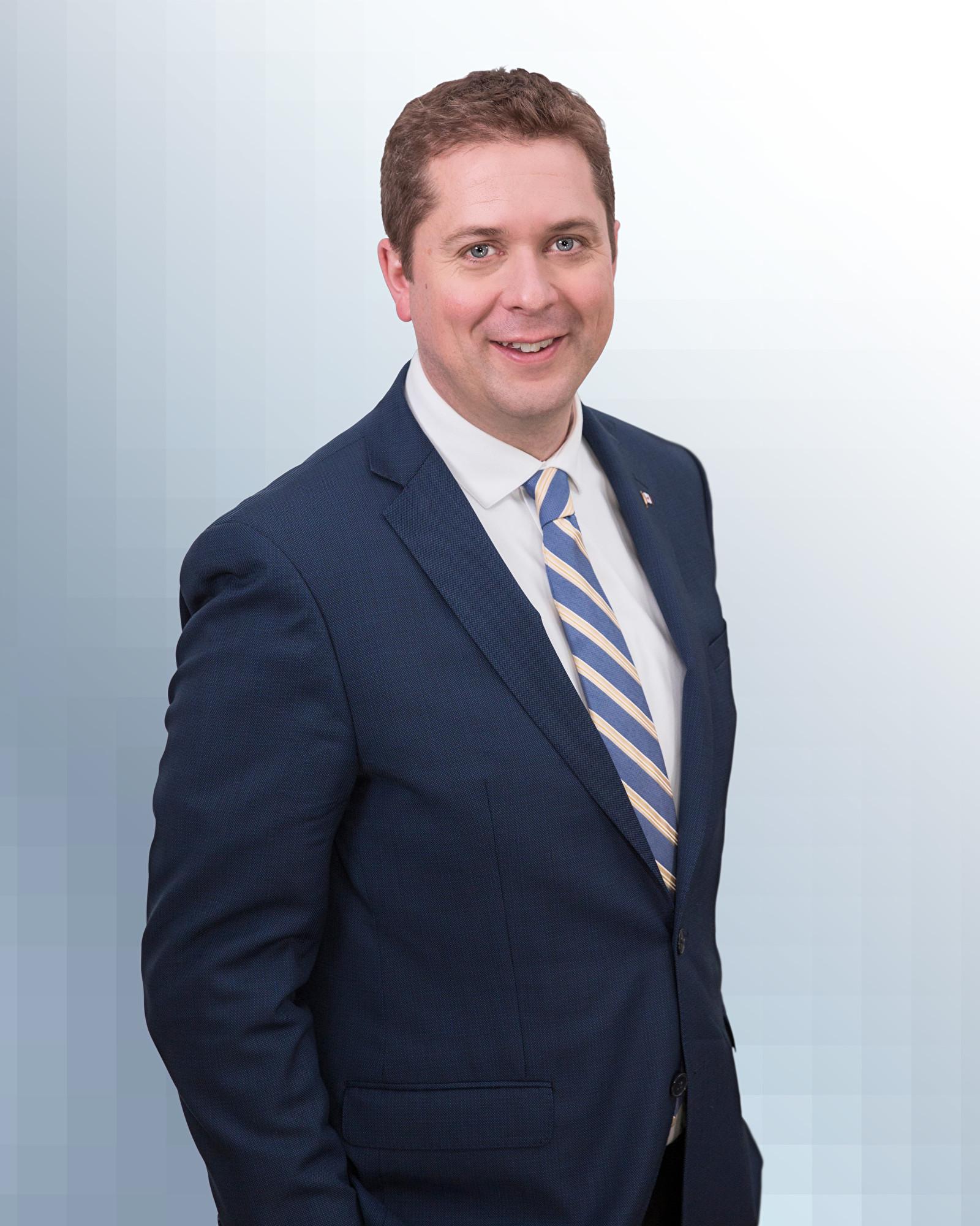 加拿大聯邦反對黨領袖、保守黨國會議員安德魯‧希爾(Andrew Scheer)