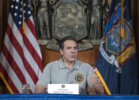 州長表示,紐約州確診人數不斷上升,已經突破兩萬人。