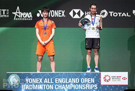 台灣「羽球一姐」戴姿穎在2020全英羽球公開賽女單決賽,擊敗當今世界球后、中國好手陳雨菲,重返球后寶座。