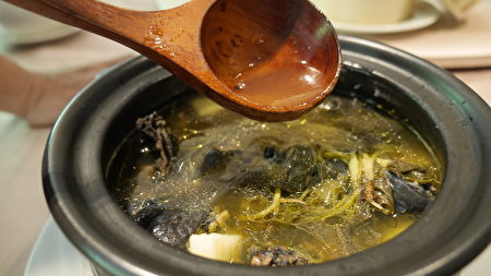魚腥草養生雞湯