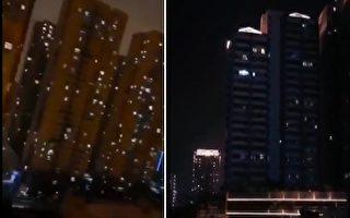 【现场视频】武汉某小区灯火寥若晨星