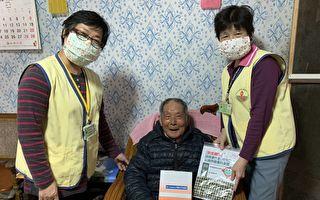 林口長庚醫院志工送愛心 布口罩及宣導防疫