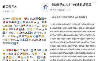 曝中共掩盖疫情真相 中国网民创意十足