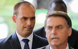 巴西總統之子:中共「獨裁」導致疫情傳播