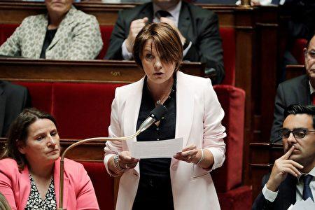 法國議員西爾維·托爾蒙(Sylvie Tolmont)。(THOMAS SAMSON/AFP via Getty Images)